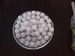 耐高温25mm硅胶球